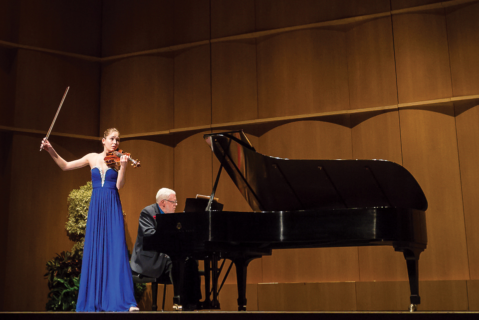 Young Artists Competition Robert And Margrit Mondavi