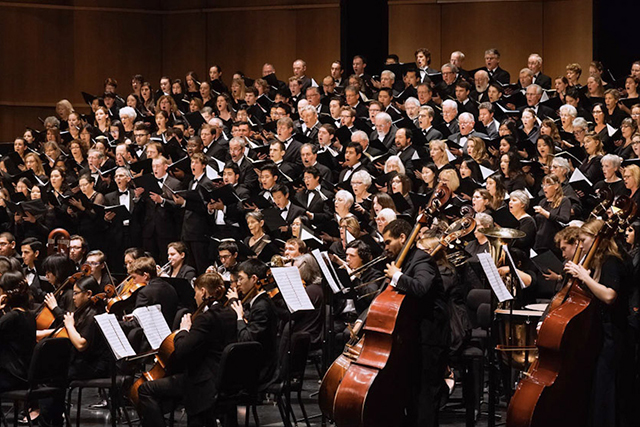 Uc Davis Symphony Orchestra Choruses Robert And Margrit