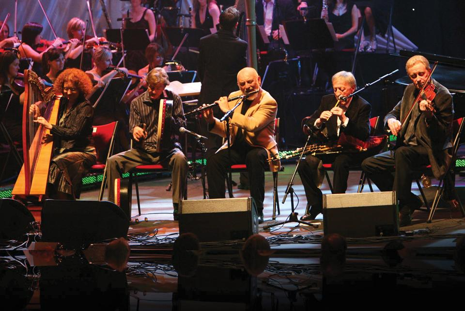 The Chieftains Robert And Margrit Mondavi
