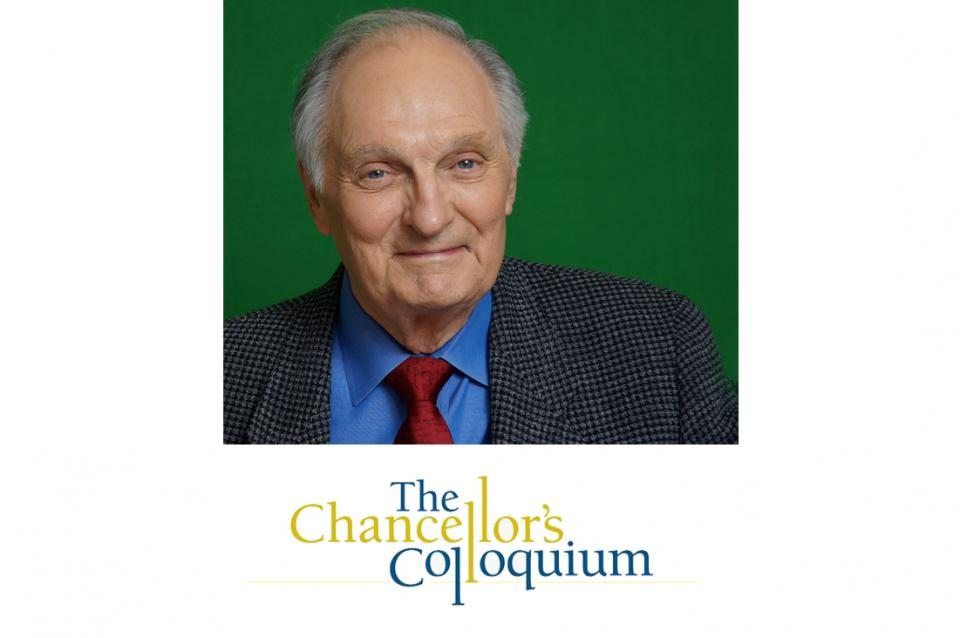 Chancellor's Colloquium Distinguished Speaker Series with Alan Alda