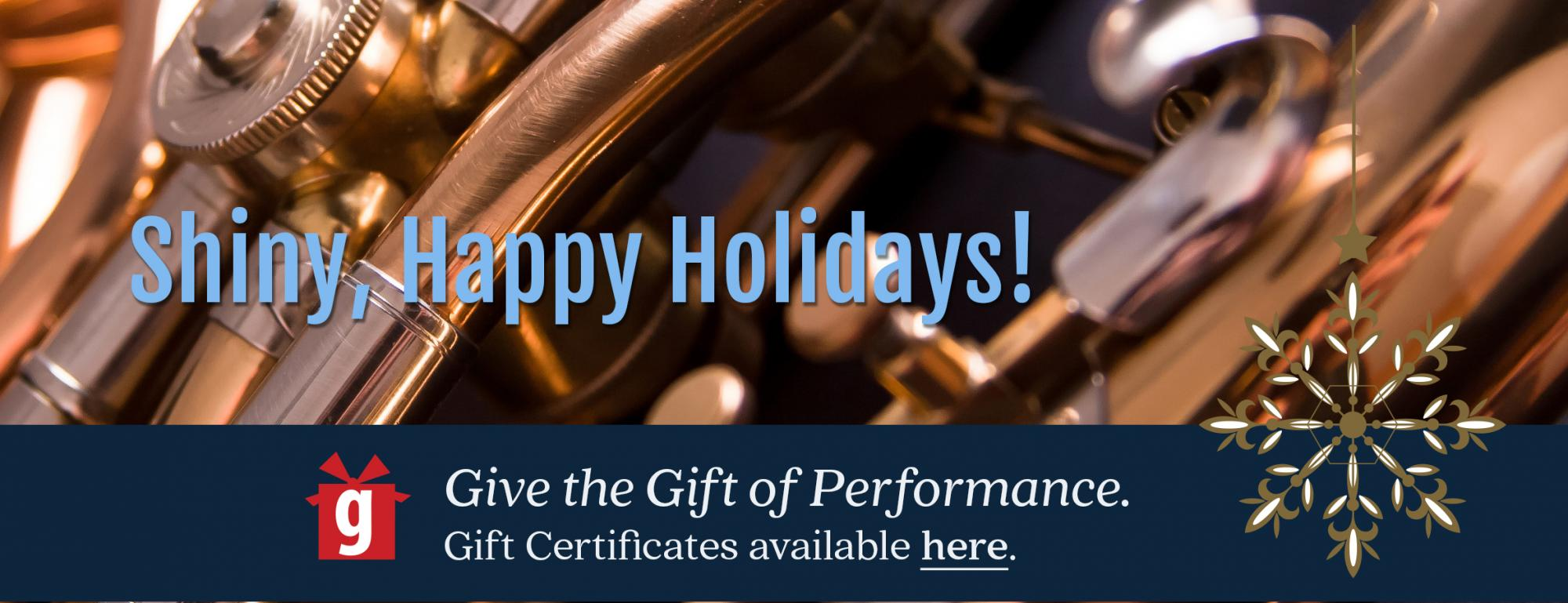 Give the Gift of Performance!